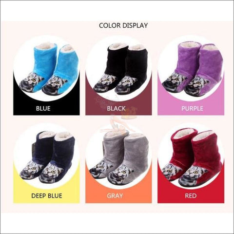 Fluffy Cat womens boots - Best Winter Boots 6 colors by Blissfactory Pet Supplies