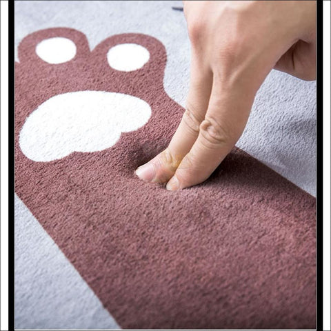 Cute Cat Anti-Slip & Anti-Dirt  Funny Doormats Material by Blissfactory Pet Supplies
