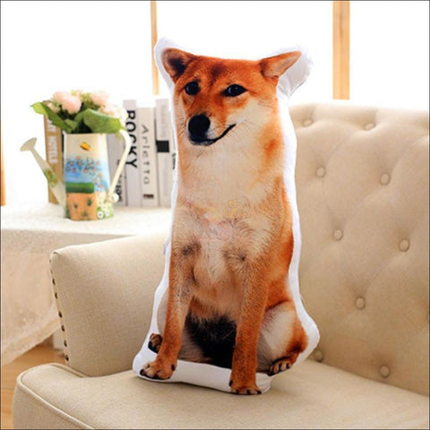 Funny & Realistic 3D Cat (Animal) Sofa Cushion Dog 1