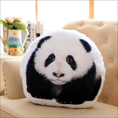 REALISTIC 3D Dog, Cat cushion - Dog, Cat Pillow Panda by Blissfactory Pet Supplies