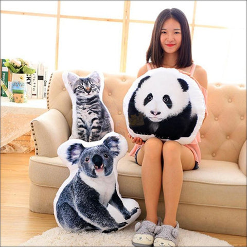 REALISTIC 3D Dog, Cat cushion - Dog, Cat Pillow by Blissfactory Pet Supplies