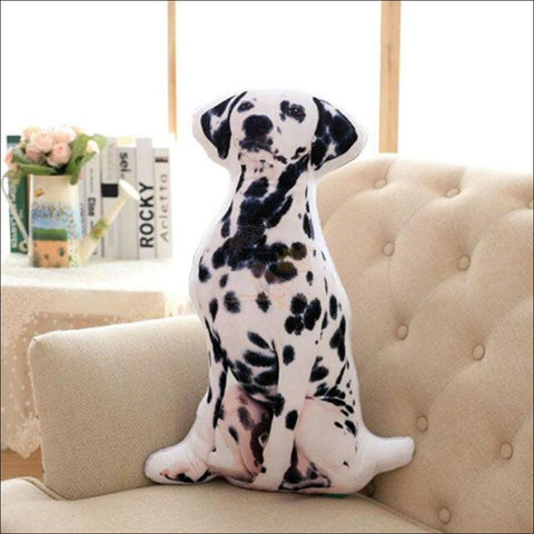 Funny & Realistic 3D Cat (Animal) Sofa Cushion Dog4