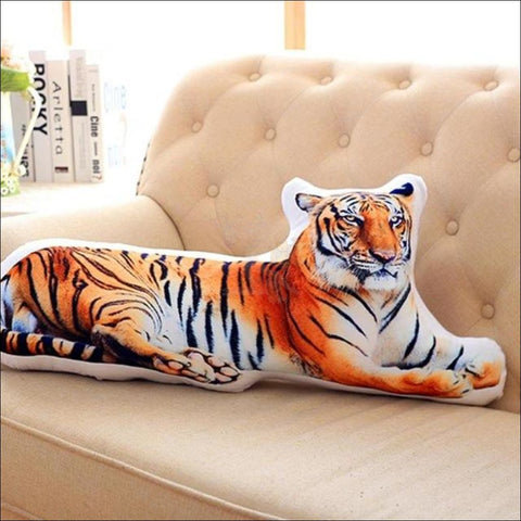REALISTIC 3D Dog, Cat cushion - Dog, Cat Pillow Tiger by Blissfactory Pet Supplies