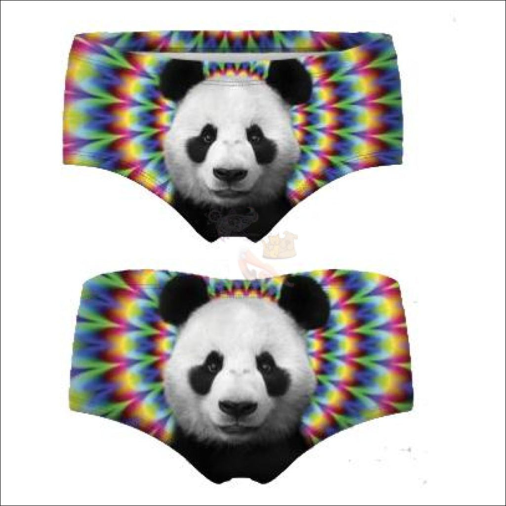 Funny & Sexy Animal Design Panties For Women (One Size Free Shipping) Panda / One