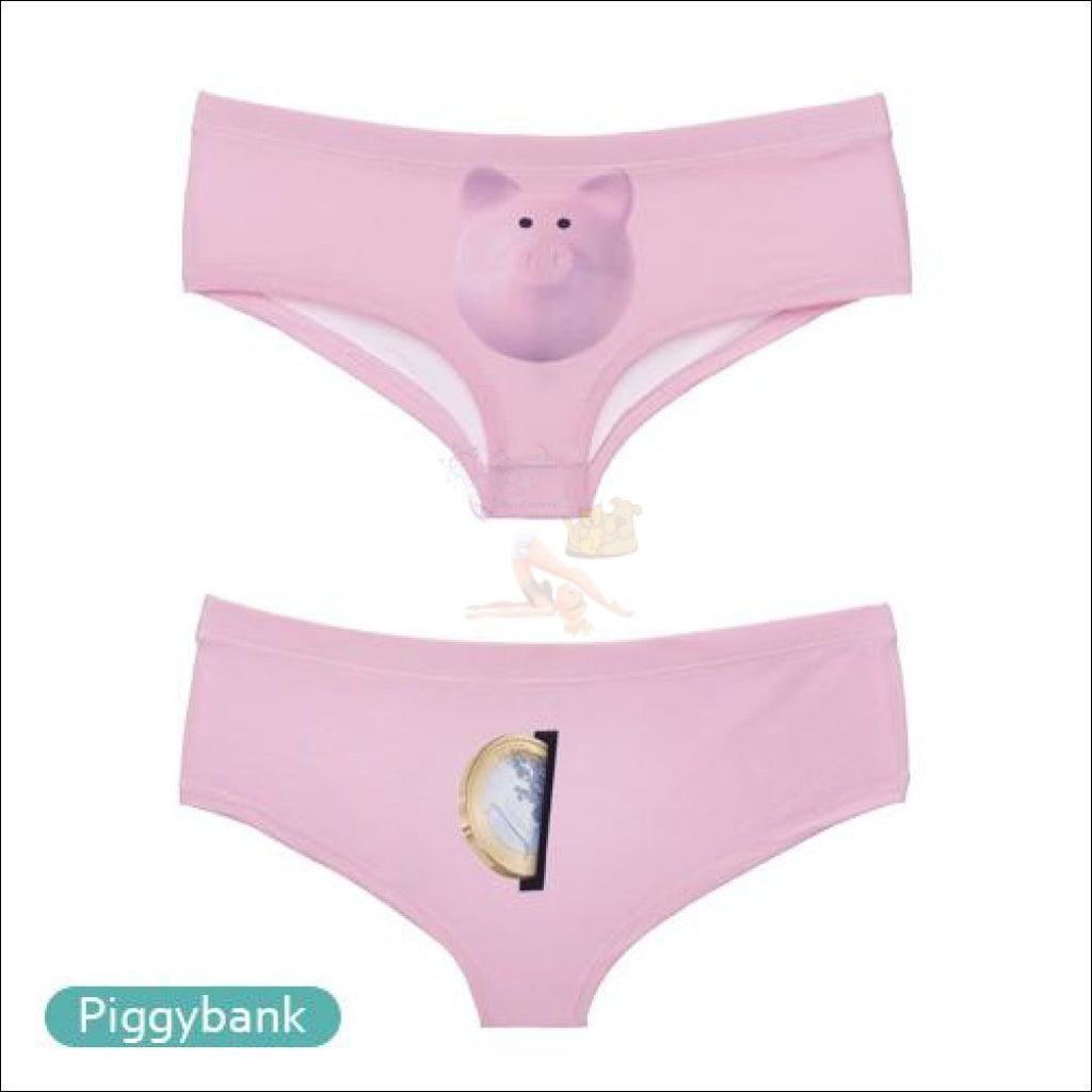 Funny & Sexy Animal Design Panties For Women (One Size Free Shipping) Pig / One