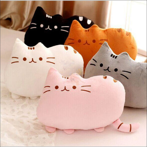 CUTE Plush Cat Chair Cushions, CUTE Plush Cat Chair Cushions - Cat Pillows Different colors  by Blissfactory Pet Supplies