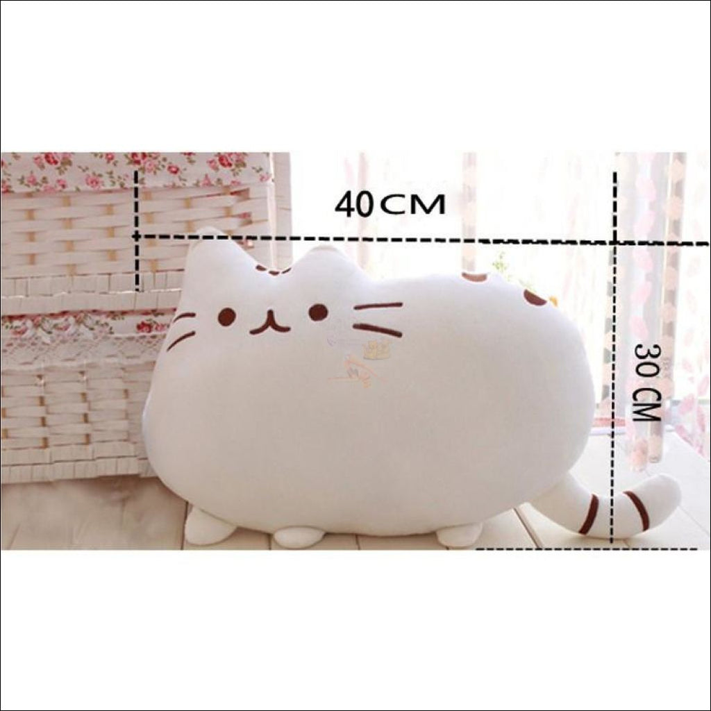 Home Deco Cute Plush Cat Cushions Pillow