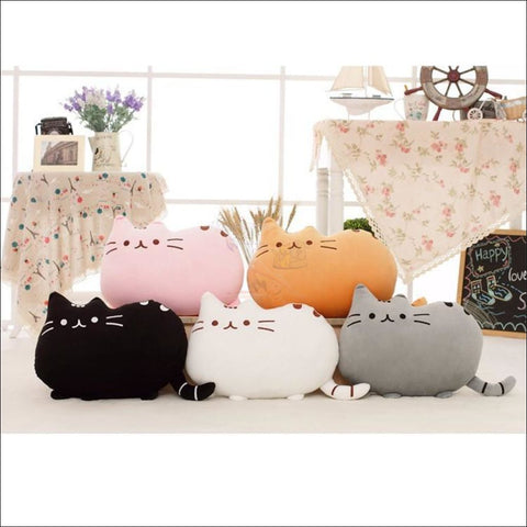 CUTE Plush Cat Chair Cushions, CUTE Plush Cat Chair Cushions - Cat Pillows by Blissfactory Pet Supplies