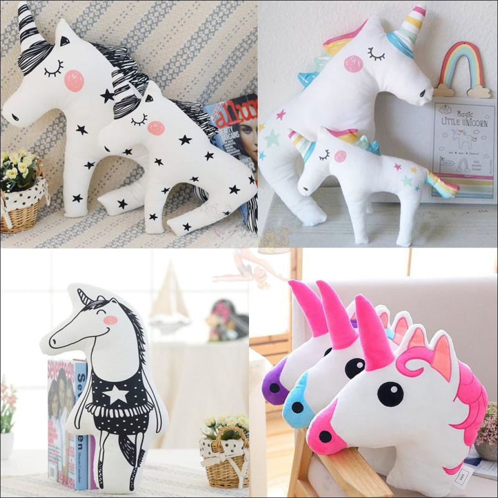 Huggly Unicorn Outdoor Cushions 4 styles by Blissfactory Pet Supplies