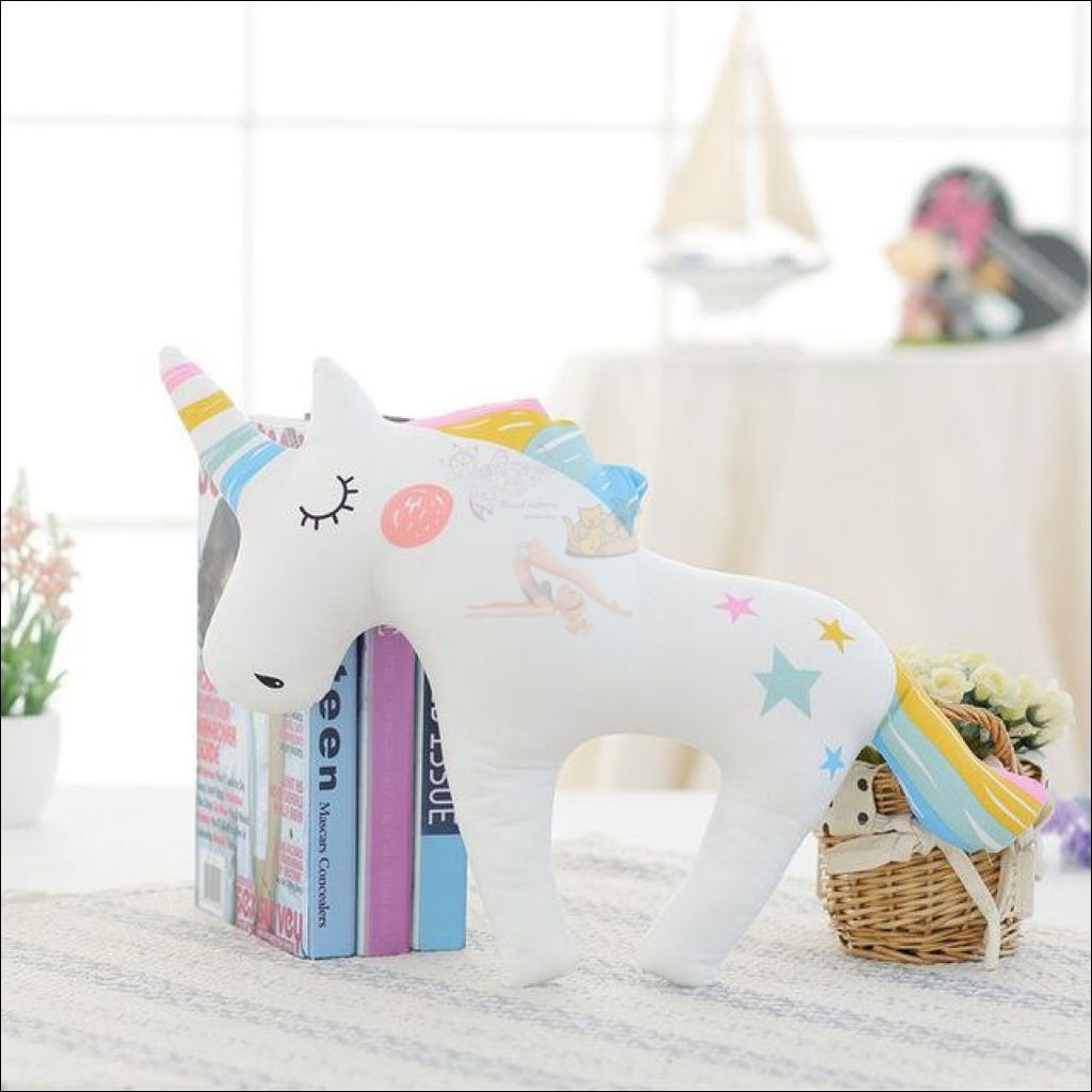 Huggly Unicorn Outdoor Cushions Rainbow Unicorn by Blissfactory Pet Supplies