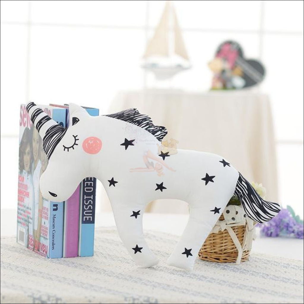 Huggly Unicorn Outdoor Cushions Starchaser Unicorn by Blissfactory Pet Supplies