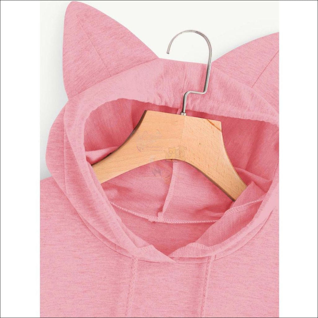 Cat Ear Hoodies For Girls - Best Sweatshirts For Women Design by Blissfactory Pet Supplies