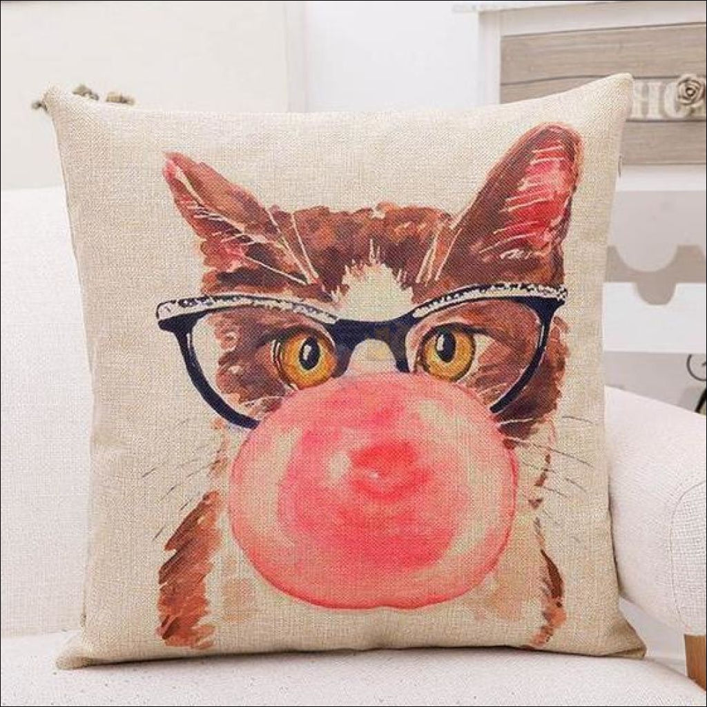 Lovely Cat Pillow Cover (Free Shipping) - 40% Off! Bubble