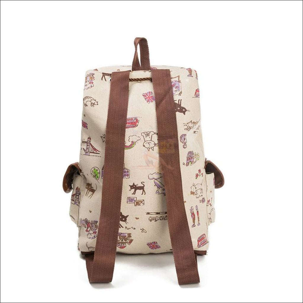 Lovely Cat Backpack | Backpacks For School Backpack  Design by Blissfactory Pet Supplies