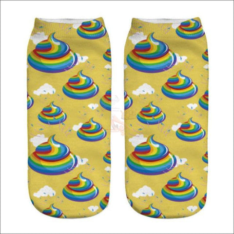 Image of LOVELY UNICORN COOL SOCKS- BOOT SOCKS Psychodelic Shit  by Blissfactory Pet Supplies