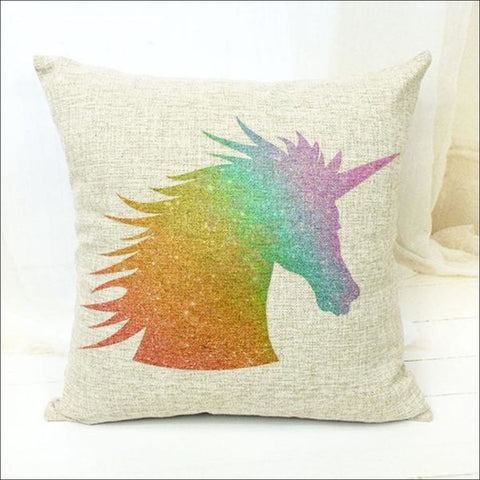 Magic Unicorn Pillow Covers- Best Home Decor 17 by Blissfactory Pet Supplies