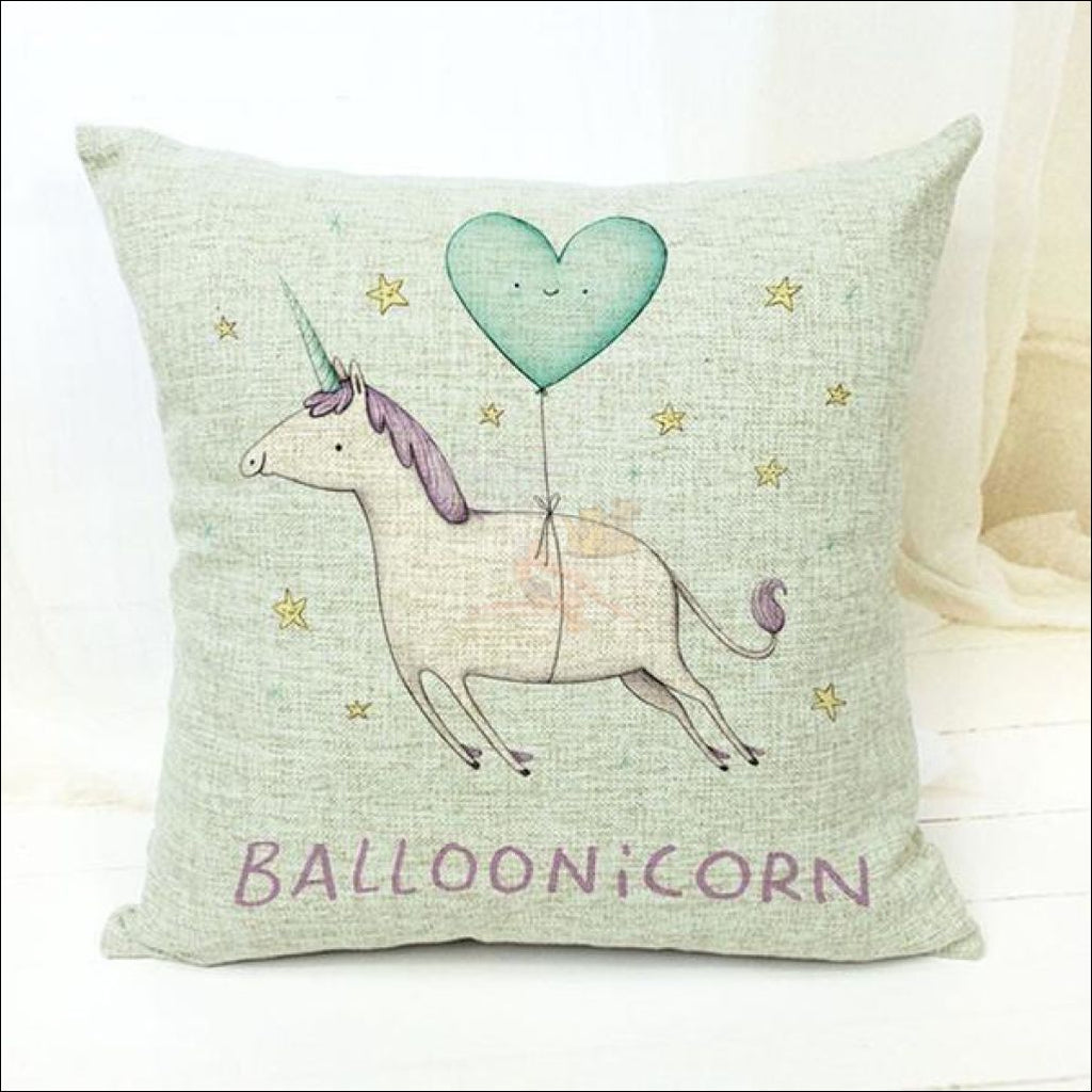 Magic Unicorn Pillow Covers- Best Home Decor 14 by Blissfactory Pet Supplies