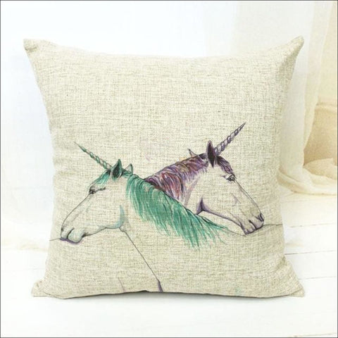 Magic Unicorn Pillow Covers- Best Home Decor 6 by Blissfactory Pet Supplies