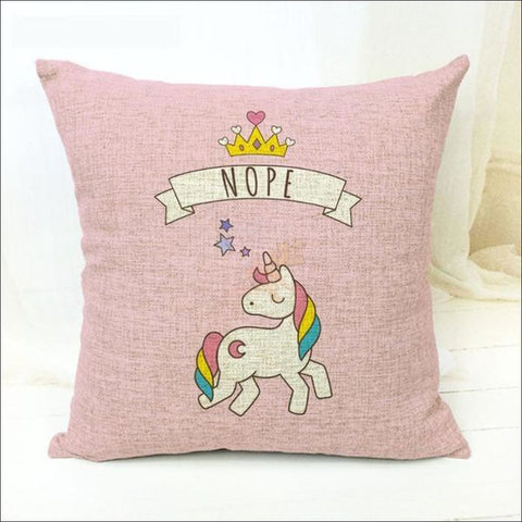 Magic Unicorn Pillow Covers- Best Home Decor 10 by Blissfactory Pet Supplies