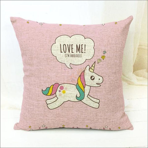 Magic Unicorn Pillow Covers- Best Home Decor 9 by Blissfactory Pet Supplies