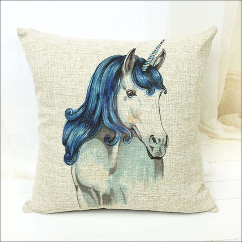 Magic Unicorn Pillow Covers- Best Home Decor 1 by Blissfactory Pet Supplies