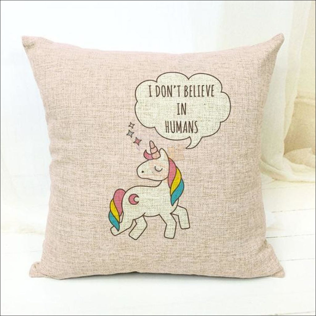 Magic Unicorn Pillow Covers- Best Home Decor 12 by Blissfactory Pet Supplies
