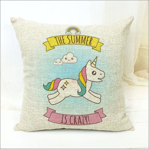 Magic Unicorn Pillow Covers- Best Home Decor 11 by Blissfactory Pet Supplies