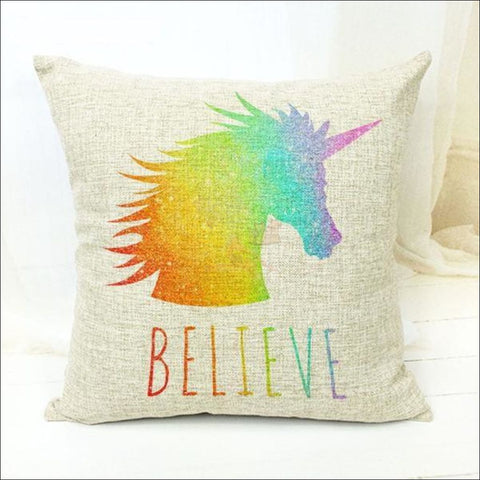 Magic Unicorn Pillow Covers- Best Home Decor 16 by Blissfactory Pet Supplies