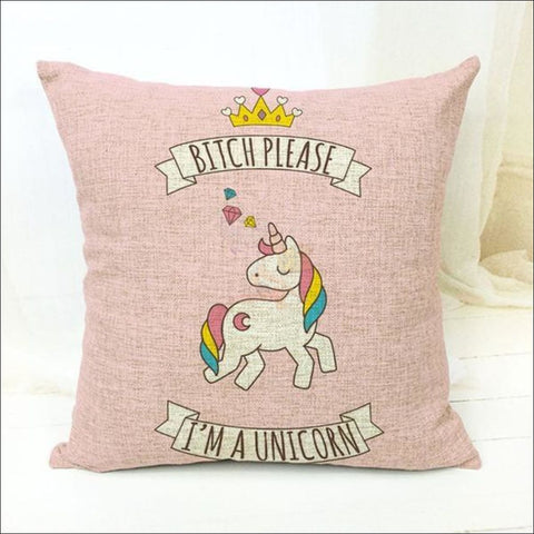 Magic Unicorn Pillow Covers- Best Home Decor 7  by Blissfactory Pet Supplies