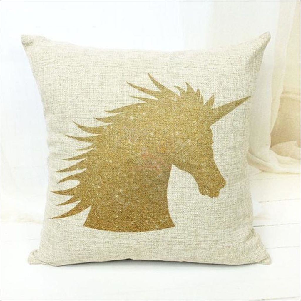 Magic Unicorn Pillow Covers- Best Home Decor 19 by Blissfactory Pet Supplies