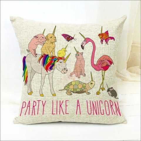 Magic Unicorn Pillow Covers- Best Home Decor 21 by Blissfactory Pet Supplies