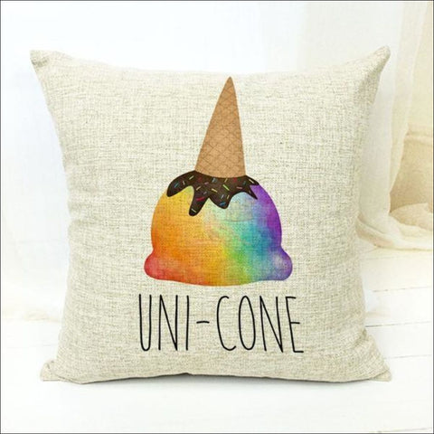 Magic Unicorn Pillow Covers- Best Home Decor 20 by Blissfactory Pet Supplies