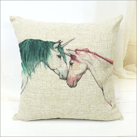 Magic Unicorn Pillow Covers- Best Home Decor 5 by Blissfactory Pet Supplies