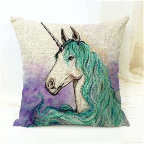 Magic Unicorn Pillow Covers- Best Home Decor 4 by Blissfactory Pet Supplies