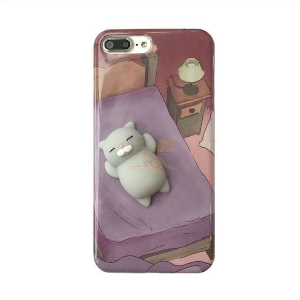 Mochi Squeeze Cat Samsung Cover (S7 - S8Plus) For Variant A / S7 Phone Cases
