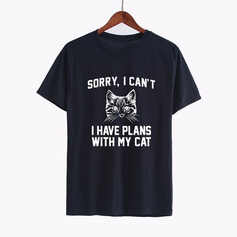 Funny Cat Shirts- Cool t-shirts Black by Blissfactory Pet Supplies