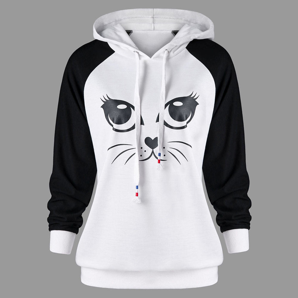 Cute Cat Hoodies For Men or Women by Blissfactory Pet Supplies