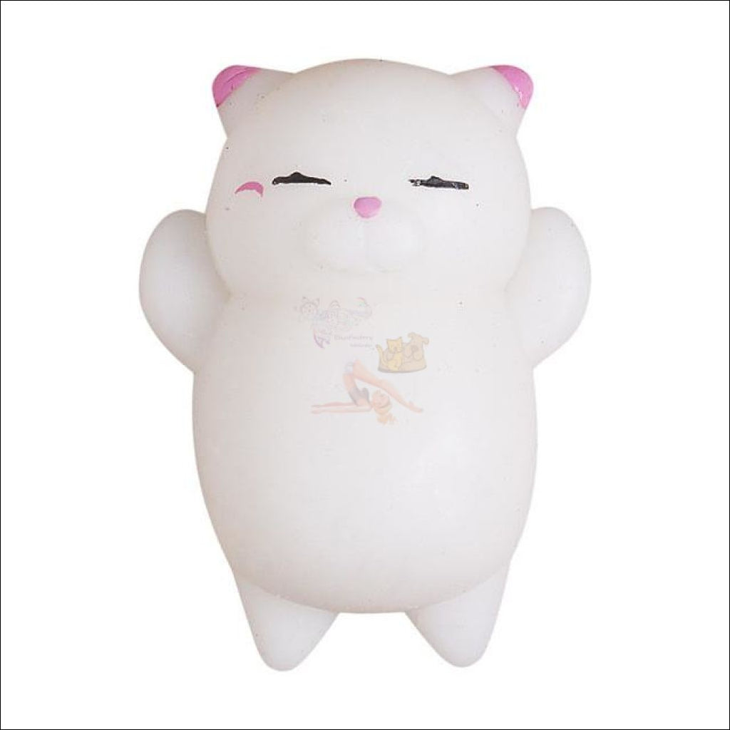 Cat Shaped stress balls Squeeze Toy -Best stress toys Pink by Blissfactory Pet Supplies