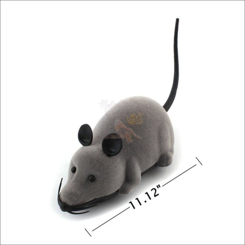 Remote Control Mouse - Best Cat Toys Size by Blissfactory Pet Supplies