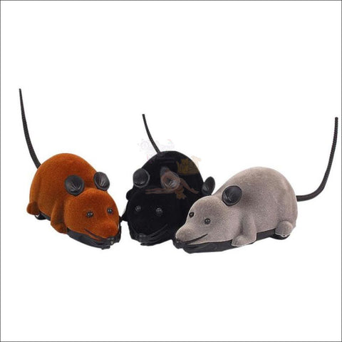 Remote Control Mouse - Best Cat Toys 3 colors by Blissfactory Pet Supplies