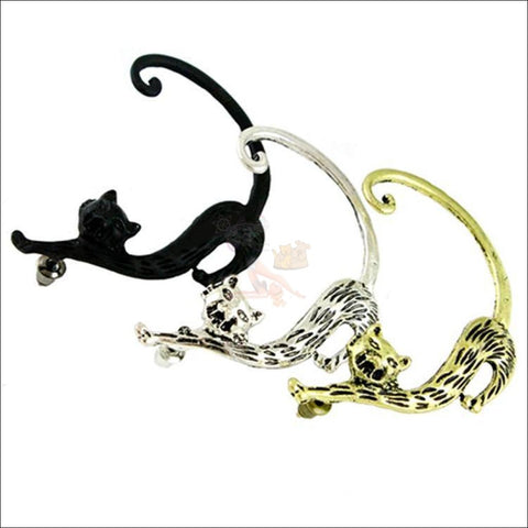 Image of Slinky Cat Ear Cuff -  Best Earrings for women 3 colors by Blissfactory Pet Supplies