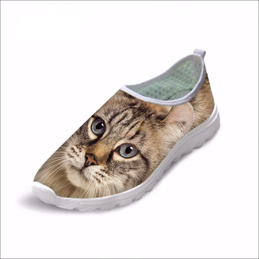 Cute Boho Cat Penny Loafers | Womens Loafers Boho Cat 5 by Blissfactory Pet Supplies
