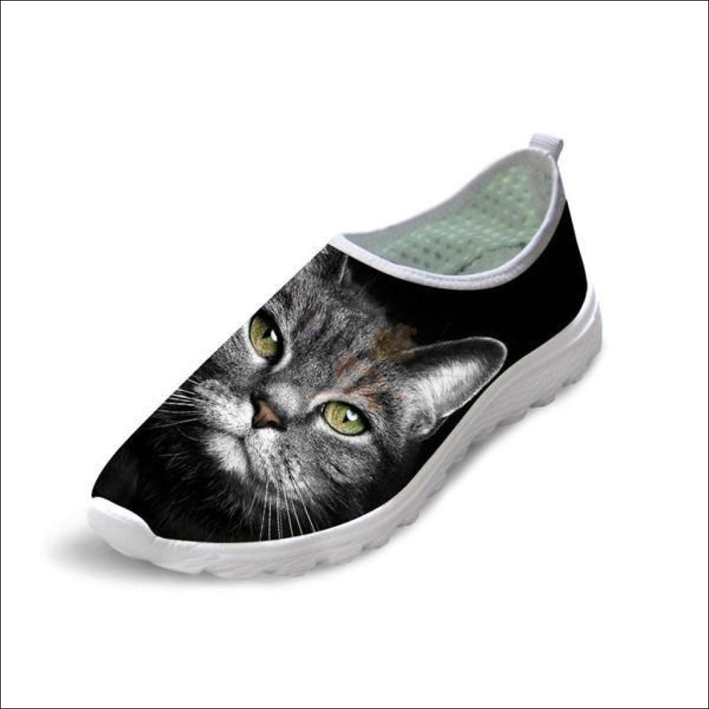 Cute Boho Cat Penny Loafers | Womens Loafers Boho Cat 2 by Blissfactory Pet Supplies