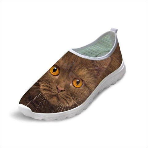 Cute Boho Cat Penny Loafers | Womens Loafers Boho Cat 4 by Blissfactory Pet Supplies