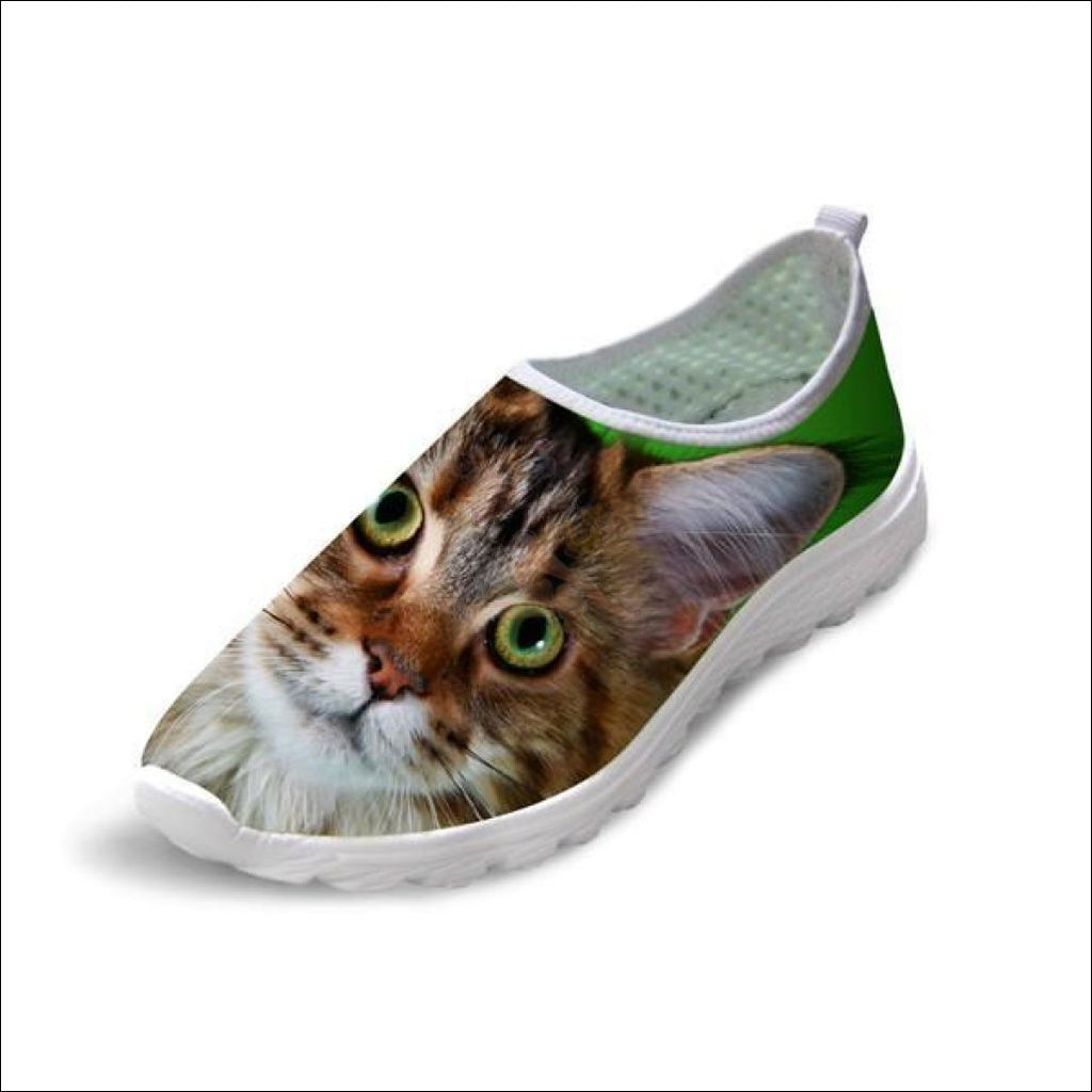 Cute Boho Cat Penny Loafers | Womens Loafers Boho Cat 3 by Blissfactory Pet Supplies