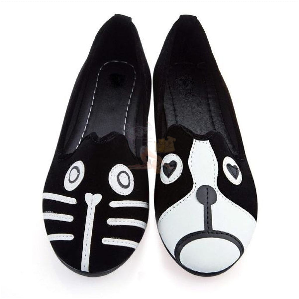 Sweet Cat Shoes For Women (Free Shipping) Black N' White / 5