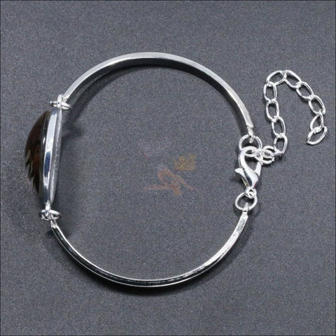 The Crescent Cat Eye unique jewelry Set- Best  jewelry online Bracelet By Blissfactory Pet Supplies
