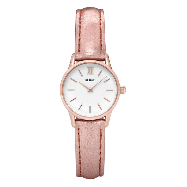 Montre Cluse La Vedette Rose Gold White Metallic