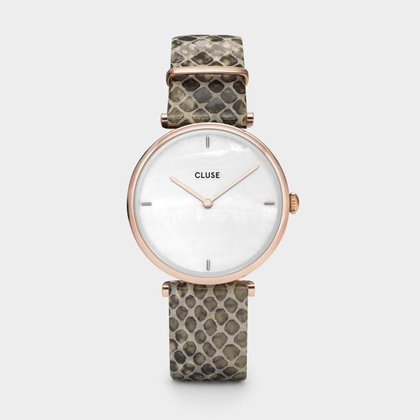 Montre Cluse Triomphe Serpent Rose Gold
