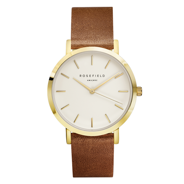 Montre Rosefield Gramercy Brown